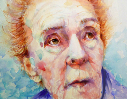 TRAGIC GENIUSES WATERCOLOR PORTRAITS