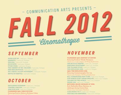 Cinematheque Fall 2012