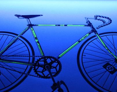 Commemorative Bike Poster, Papergirl SF 2012