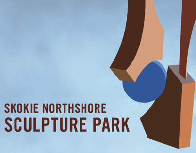 Skokie Northshore Sculpture Park Identity