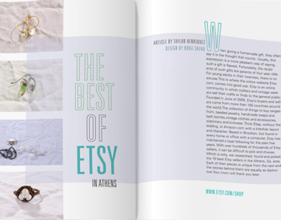 The Best of Etsy for BLVD Magazine
