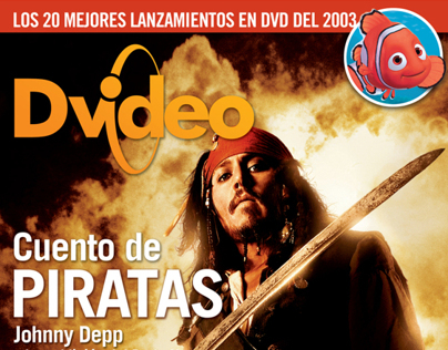 Diseño revista: Dvideo