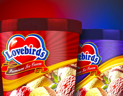 LOVEBIRDS Ice cream