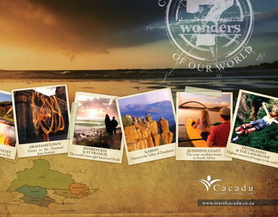 CACADU TOURISM - BROCHURES & WEBSITE