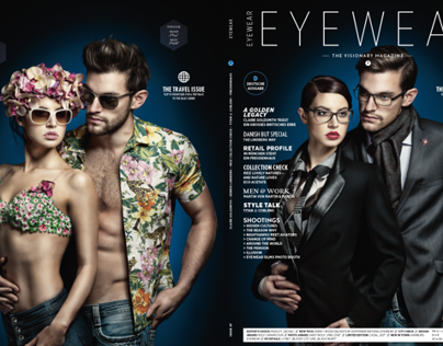 Cover and Backcover EYEWEAR Issue 07