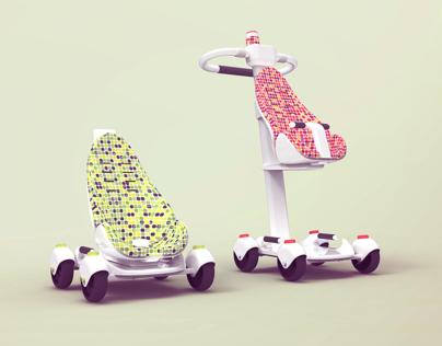 Luki, transporte de crianças
