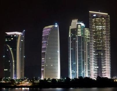Night Cityscape in Putrajaya