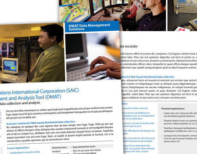 Business Unit Marketing Sheets
