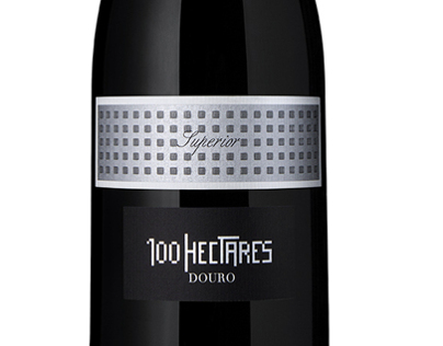 100 Hectares wine label