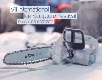 VII International Ice Sculpture Festival in Poznan
