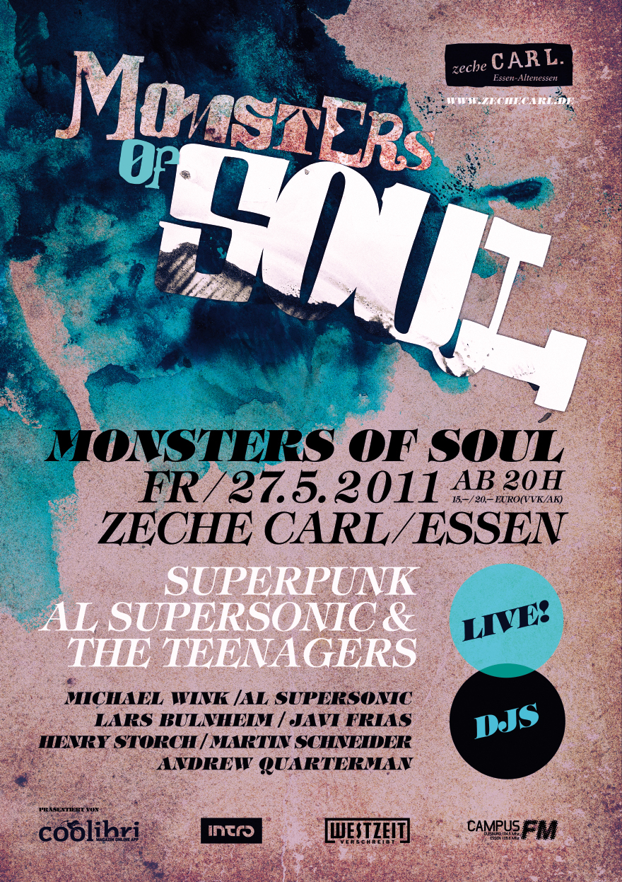 Clubflyer & Poster Monster of Soul