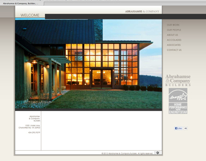 Abrahamse & Co. Builders Website