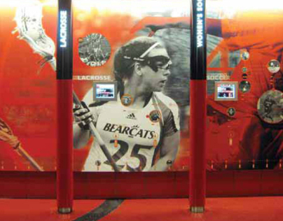 University of Cincinnati Celebration Wall
