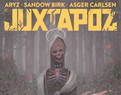 Juxtapoz Magazine, 2013 Redesign