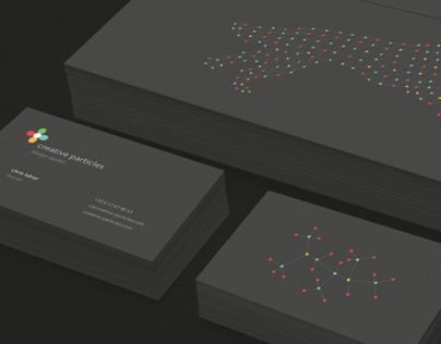 Creative Particles     Corporate Identity
