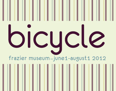 Frazier Museum Bicycle Exhibit