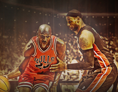Past & Present: Michael Jordan & LeBron James