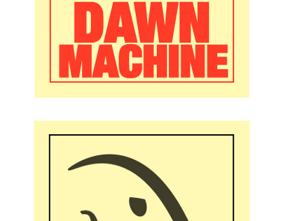Dawn Machine logo(iron robot)