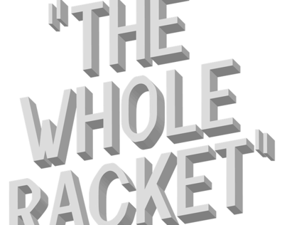 The Whole Racket - Font