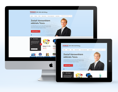 Redesign of Tesco.pl