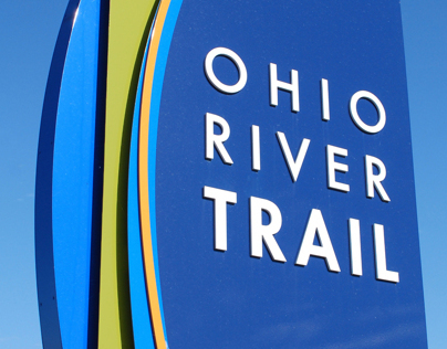 Ohio River Trail Wayfinding Signage