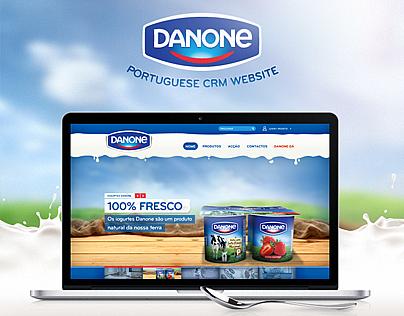Danone Portuguese Website