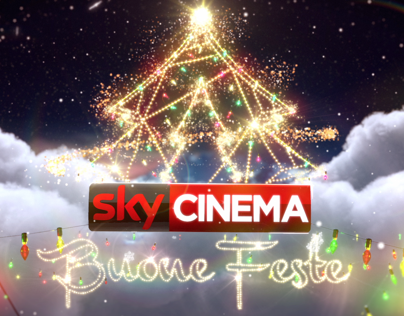Sky Cinema – Christmas ident