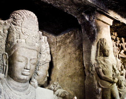 Sights at the Elephanta Caves, Mumbai