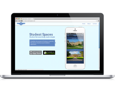 Website Design | Student Spaces | App Promotion
