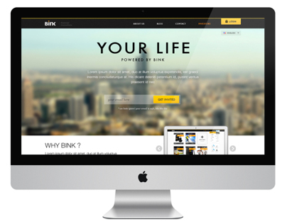 Bink website v2.0