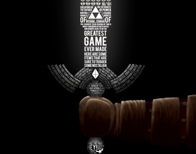 Infographic - Legend Of Zelda: Ocarina of Time