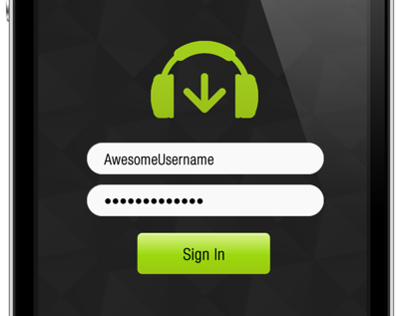 Beatport App Design