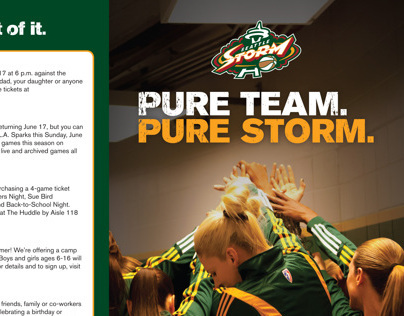 Seattle Storm: 2012 Roster Cards