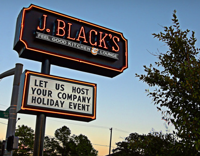 Sign Design - J.BLACKS