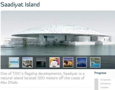 TDIC, Website (United Arab Emirates)