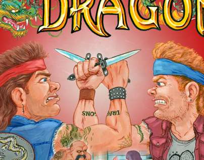 Double Dragon box art redesign