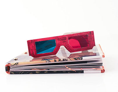 Lost at Sea: A pop-up, 3D story book