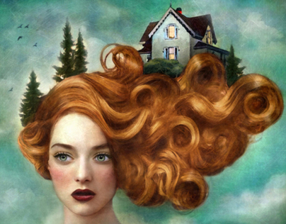 ILLUSTRATION Surreal Portraits