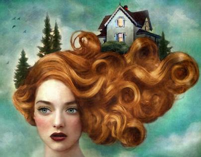 ILLUSTRATION Surreal Portraits