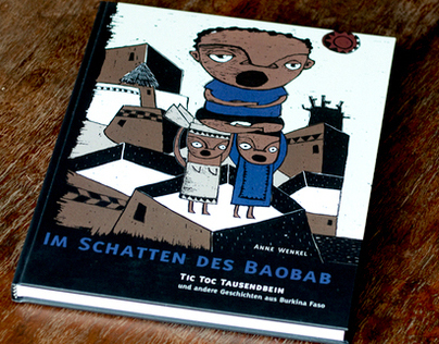 Im Schatten des Baobab | illustrated book