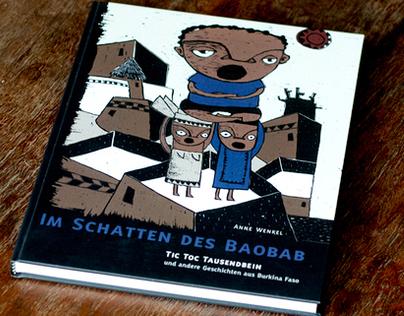 Im Schatten des Baobab   illustrated book