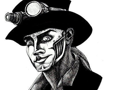 Steam Powered Giraffe Portraits