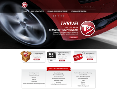 TCi T3 Program Website