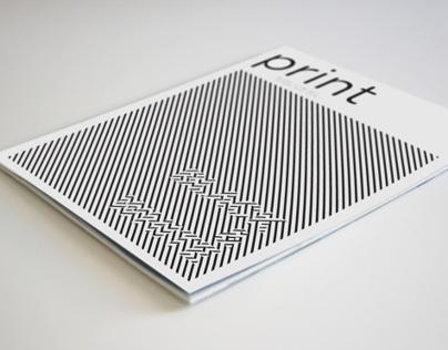 Print Magazine - Black & White Edition