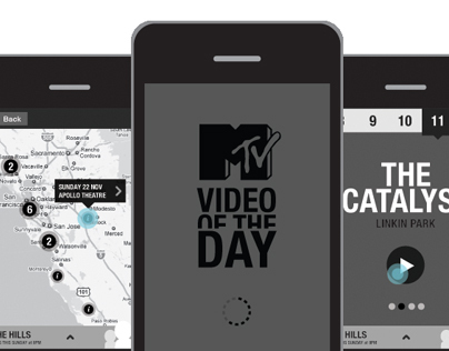 MTV Mobile & App concepts
