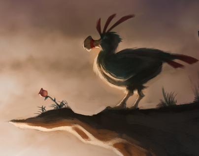 I am a flightless bird…
