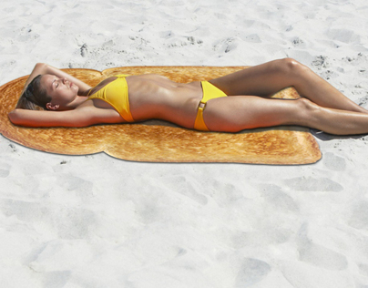 Serviette de plage (Beach towel)