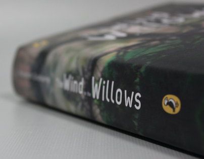 Wind in the Willows - Book cover design