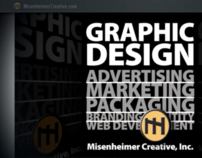 Misenheimer Creative, Inc.-Graphic Design- Print+Web