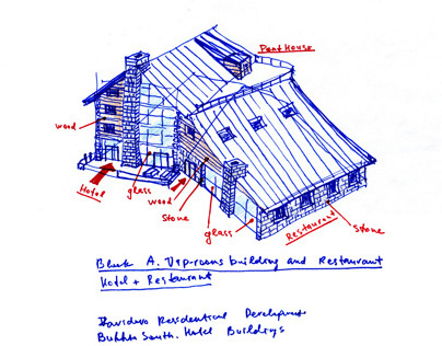 Zavidovo Resort Sketches